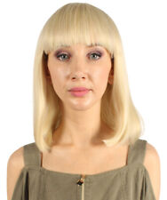 Medium Bob Wigs | Blonde Cosplay Halloween Wigs HW-2509