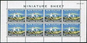 New Zealand B67a-B68a,MNH-bent.Mi 433-434 klb. Red-billed gull,Pigeon.1964