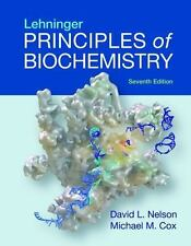 Lehninger Principles of Biochemistry 7 Cox and Nelson CHEAPEST ON EBAY Brand New