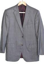 ZEGNA TROFEO 600 jacket MED. BROWN 39R 39 R US 49R EU Handstitch 2 Btn
