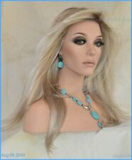 Kaia Palm Springs Blond Lace Front Monofilament Hand Tied Jon Renau Wigs -2