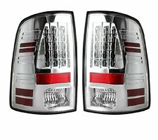 Recon Clear LED Tail Lights 264169CL 2009-2014 Dodge Ram 1500 2500 3500