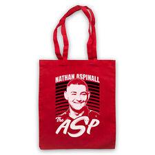NATHAN ASPINALL THE ASP DARTS TRIBUTE ENGLISH PLAYER SHOULDER TOTE SHOP BAG