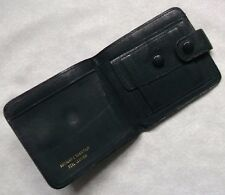 Wallet Vintage Leather BI-FOLD CARDS NOTES ID 1960s 1970s