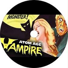 Atom Age Vampire (1960) Horror / Sci-Fi Movie on Dvd
