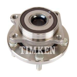 TIMKEN HA590314 Rear Wheel Hubs /& Bearings Pair Set for 08-11 Subaru WRX STi