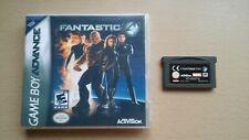 FANTASTIC FOUR - Nintendo Gameboy Advance Game + Custom Cover GBA MARVEL