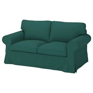Ikea UPPLAND Cover for loveseat 2 seat COVER ONLY, totebo dark turquoise - NEW