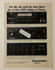 ANNONCE PUBLICITAIRE/Publications a4: Blaupunkt Bamberg Qts 1981 (110416164)