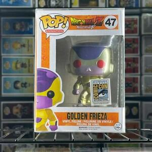 Funko Pop!Dragon Ball Z Golden Frieza #47 Red Eyes Exclusive MINT With Protector