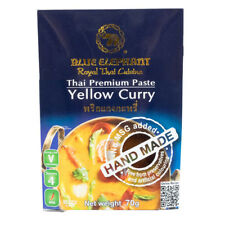 70g Blue Elephant Yellow Curry Kaeng Kari Paste Authentic Thai Cooking Recipe