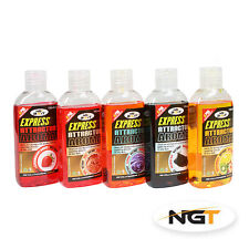NEW NGT 5 x100ml Fishing Bait Glug Boilie Dip Attractor 5 Liquid Flavours NGT
