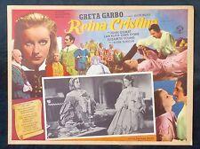 GRETA GARBO Queen Christina ELIZABETH YOUNG John Gilbert Lobby Card 1933 N MINT