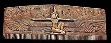 Egyptian Winged Isis Wall Plaque Home Decor