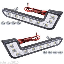 "A pair of ""L"" Car super bright LED daytime running lights Waterproof&shockproof"