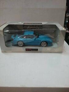 Rare NOS UT Models Porsche 911 Carrera RS 993 Riviera Blue 1:18 27818 964 Turbo