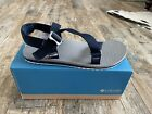 Columbia Mens Red River Athletic Sandal Water Sandal Navy Gray Size 12 New