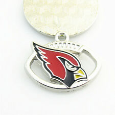 10ps Arizona Cardinals USA Football NFL Team Logo Floating Dangle Charms Pendant