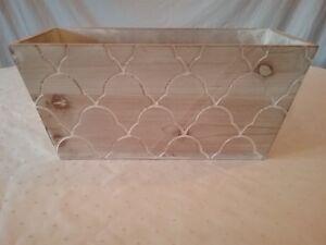 Wooden Storage Box Home Decor Decoration