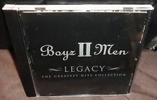 Boyz II Men Legacy - The Greatest Hits Collection (CD, 2001)