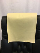 "Recliner 14"" x 30"" Ice Cream Champion  Head Rest Cover Vinyl Sofa seat Chaise"