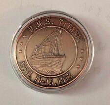 2012 Cook Islands Titanic Commemorative Coin 40mm (In Capsule)