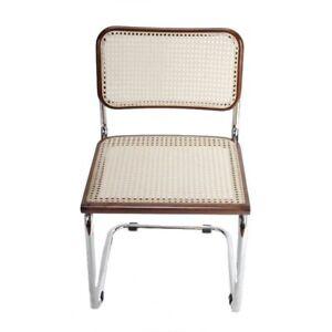 Breuer Metal Chair - Walnut
