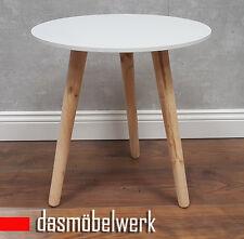 Fantastisch Beistelltisch Blumenhocker Tisch Skandinavisches Retro Design Weiß 200204  B WARE