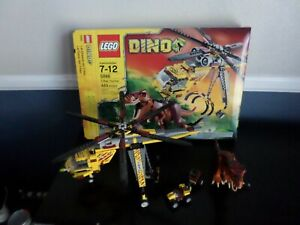 LEGO Dino T-Rex Hunter (5886) 99% Complete w/ Minifigures, Box & Manuals