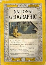 National Geographic Magazine October 1960