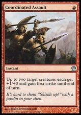 MTG 4x COORDINATED ASSAULT - Theros *+1/0 First Strike*