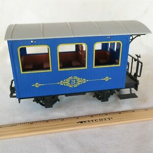 Vtg LGB 1993 Czech made passenger G scale model Train Car Very Nice