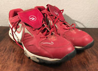 a7a905ce9 Used Nike Air Diamond Trainer Pro Red White Mens Size 10 Shoes