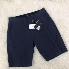 Spada Roma Mens Chino Shorts Blue Be/Twill 19 Made in Italy New