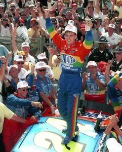 JEFF GORDON 8X10 PHOTO NASCAR AUTO RACING PICTURE CELEBRATION