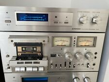 New ListingPioneer Ct-F1000 3 Head Dual Capstan Cassette Deck - Fully Working Nice
