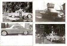 Man with Boxer & Border Collie Dogs 1955 Studebaker Commander Regal Coupe Photos