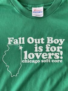 Vintage Fall Out Boy is for lovers Shirt - 14-16 YL