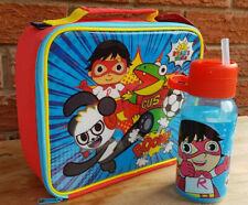 Ryans World Lunch Bag  and Water Bottle 400ML Boys School NEW