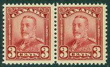 EDW1949SELL : CANADA 1928-29 Scott #151 pair. Mint NH. PO Fresh. Cat $110
