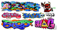 HO Scale Custom Graffiti Decals #44 - Weather Your Box Cars, Hoppers, & Gondolas