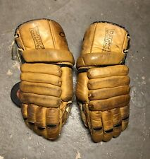 Vintage Rare CCM Gloves 501214 Senior Size Cooper