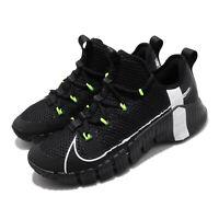 Nike Free Metcon 3 Black White Volt Men Cross Training Shoes Sneakers CJ0861-007
