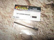 Vintage RC Associated 1/4 Screw Driver Blade Tip Flat 1671
