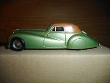 Cabriolet Delahaye 135 MS Pourtout  BELLE EPOQUE résine et métal  vintage n° 65