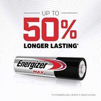 40X 20X 10X Energizer Max AA AAA Alkaline Battery Batteries Power Free Postage