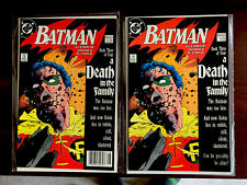 Lot of 2 DC Comic Batman Death In The Family #428 Book 3 of 4 Death of Robin Key