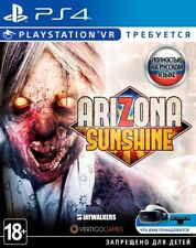 Arizona Sunshine (PS4/PSVR, 2018) English,Russian,German,Italian,French,Spanish