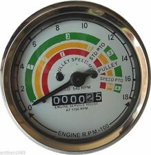 Fordson  Major Tachometer  80mm Clockwise - Early Type