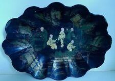 Basket Cardboard Boiled Bridge to Monsoon Napoleon III Decor Aux Chinese